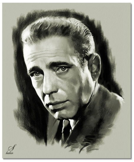 Humphrey Bogart by shahin